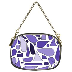 Silly Purples Chain Purse (one Side) by FunWithFibro