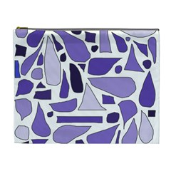 Silly Purples Cosmetic Bag (xl) by FunWithFibro