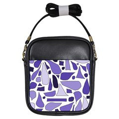 Silly Purples Girl s Sling Bag