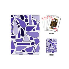 Silly Purples Playing Cards (mini) by FunWithFibro
