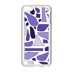 Silly Purples Apple Ipod Touch 5 Case (white) by FunWithFibro