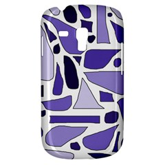 Silly Purples Samsung Galaxy S3 Mini I8190 Hardshell Case by FunWithFibro