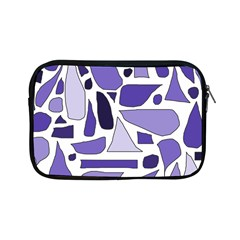 Silly Purples Apple Ipad Mini Zippered Sleeve