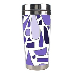 Silly Purples Stainless Steel Travel Tumbler by FunWithFibro