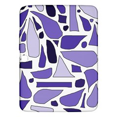 Silly Purples Samsung Galaxy Tab 3 (10 1 ) P5200 Hardshell Case  by FunWithFibro