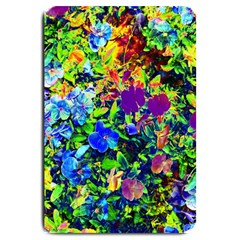The Neon Garden Large Door Mat by rokinronda