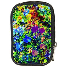 The Neon Garden Compact Camera Leather Case by rokinronda