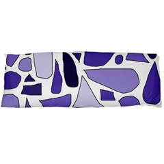 Silly Purples Body Pillow (dakimakura) Case (two Sides) by FunWithFibro