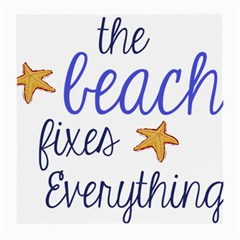 The Beach Fixes Everything Glasses Cloth (medium) by OneStopGiftShop