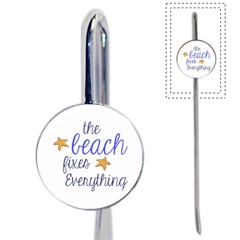 The Beach Fixes Everything Bookmark by OneStopGiftShop