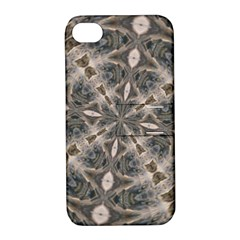 Flowing Waters Kaleidoscope Apple Iphone 4/4s Hardshell Case With Stand by Fractalsandkaleidoscopes