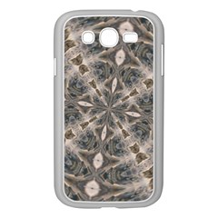 Flowing Waters Kaleidoscope Samsung Galaxy Grand Duos I9082 Case (white) by Fractalsandkaleidoscopes