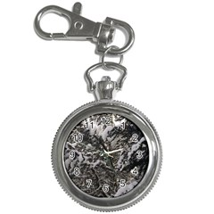 Snowy Trees Key Chain Watch by DmitrysTravels