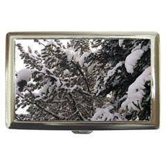 Snowy Trees Cigarette Money Case by DmitrysTravels