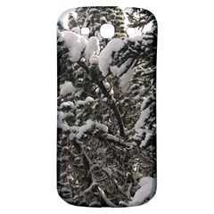 Snowy Trees Samsung Galaxy S3 S Iii Classic Hardshell Back Case by DmitrysTravels