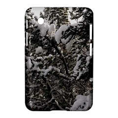 Snowy Trees Samsung Galaxy Tab 2 (7 ) P3100 Hardshell Case  by DmitrysTravels