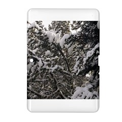 Snowy Trees Samsung Galaxy Tab 2 (10 1 ) P5100 Hardshell Case  by DmitrysTravels
