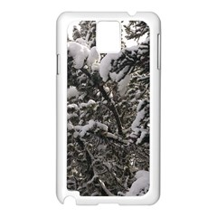 Snowy Trees Samsung Galaxy Note 3 N9005 Case (white) by DmitrysTravels