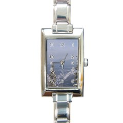 Trees Rectangular Italian Charm Watch