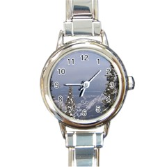 Trees Round Italian Charm Watch by DmitrysTravels