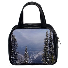 Trees Classic Handbag (two Sides)
