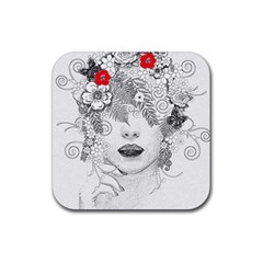 Flower Child Drink Coasters 4 Pack (square) by StuffOrSomething