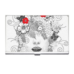 Flower Child Business Card Holder by StuffOrSomething