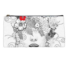 Flower Child Pencil Case by StuffOrSomething