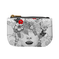 Flower Child Coin Change Purse by StuffOrSomething