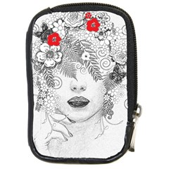 Flower Child Compact Camera Leather Case by StuffOrSomething