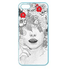 Flower Child Apple Seamless Iphone 5 Case (color) by StuffOrSomething