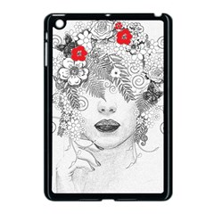 Flower Child Apple Ipad Mini Case (black) by StuffOrSomething