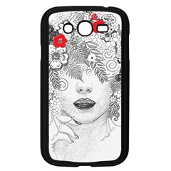 Flower Child Samsung Galaxy Grand Duos I9082 Case (black) by StuffOrSomething