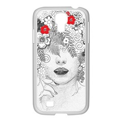 Flower Child Samsung Galaxy S4 I9500/ I9505 Case (white) by StuffOrSomething