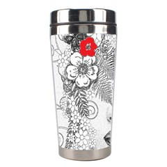 Flower Child Stainless Steel Travel Tumbler by StuffOrSomething