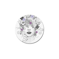 Flower Child Of Hope Golf Ball Marker 10 Pack by FunWithFibro