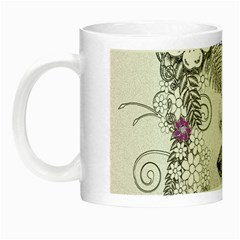 Flower Child Of Hope Glow In The Dark Mug by FunWithFibro