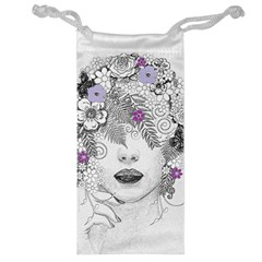 Flower Child Of Hope Jewelry Bag