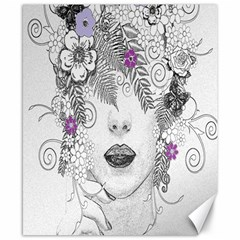 Flower Child Of Hope Canvas 8  X 10  (unframed) by FunWithFibro