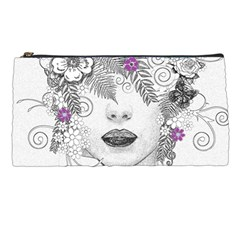 Flower Child Of Hope Pencil Case by FunWithFibro
