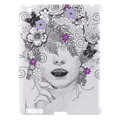Flower Child Of Hope Apple Ipad 3/4 Hardshell Case (compatible With Smart Cover) by FunWithFibro