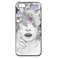 Flower Child Of Hope Apple Iphone 5 Seamless Case (black) by FunWithFibro