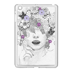 Flower Child Of Hope Apple Ipad Mini Case (white) by FunWithFibro