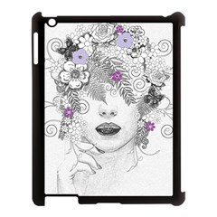 Flower Child Of Hope Apple Ipad 3/4 Case (black) by FunWithFibro