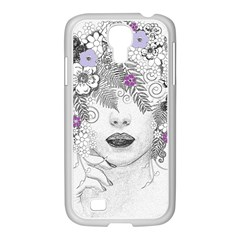 Flower Child Of Hope Samsung Galaxy S4 I9500/ I9505 Case (white) by FunWithFibro