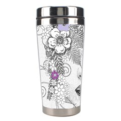 Flower Child Of Hope Stainless Steel Travel Tumbler by FunWithFibro