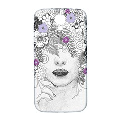 Flower Child Of Hope Samsung Galaxy S4 I9500/i9505  Hardshell Back Case by FunWithFibro