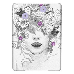 Flower Child Of Hope Apple Ipad Air Hardshell Case by FunWithFibro