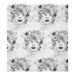 Flower Child Of Hope Shower Curtain 66  X 72  (large) by FunWithFibro
