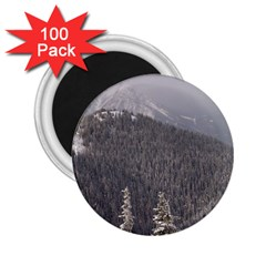 Mountains 2 25  Button Magnet (100 Pack) by DmitrysTravels